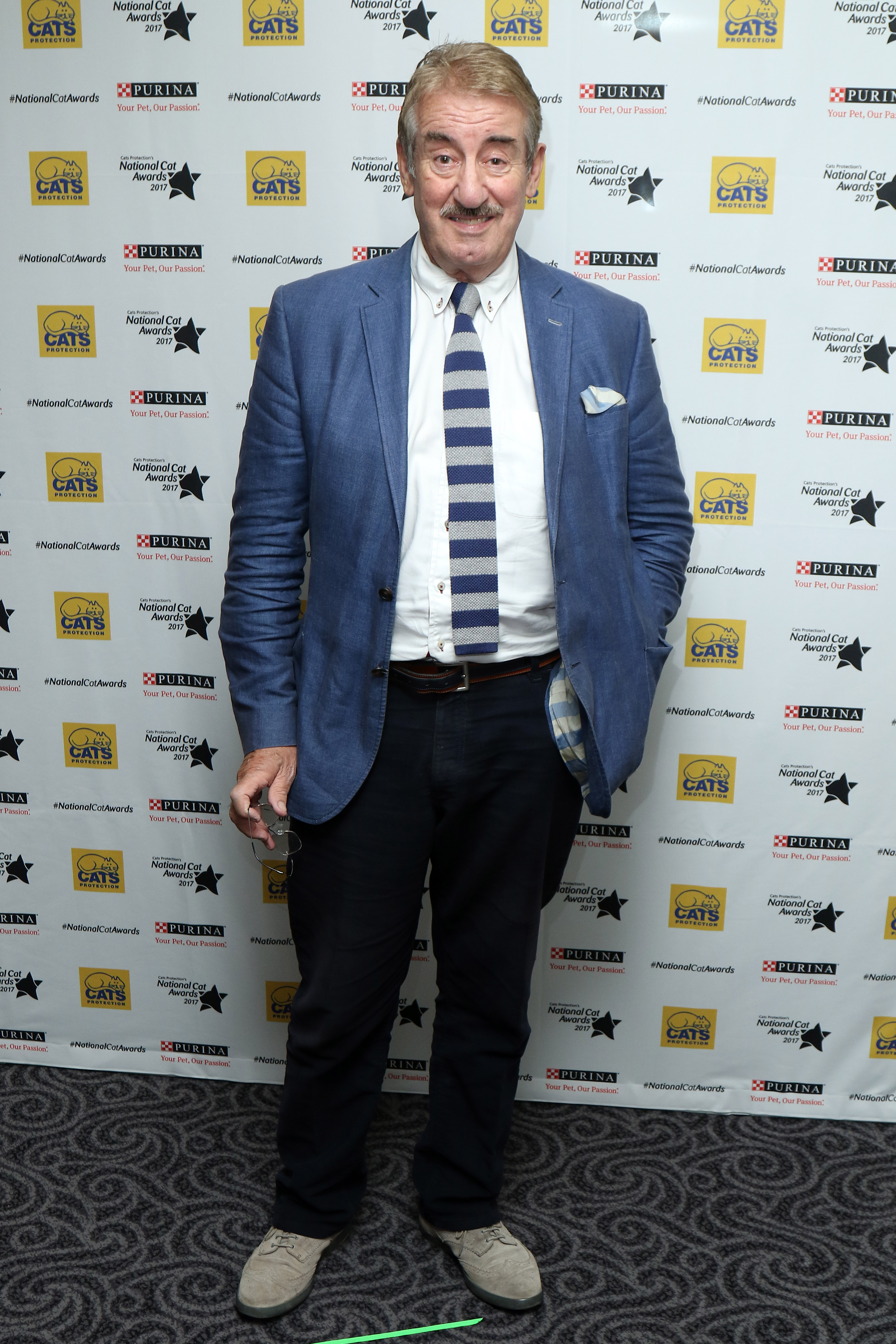 John Challis Attends The Cats Protection Awards 2017 In London