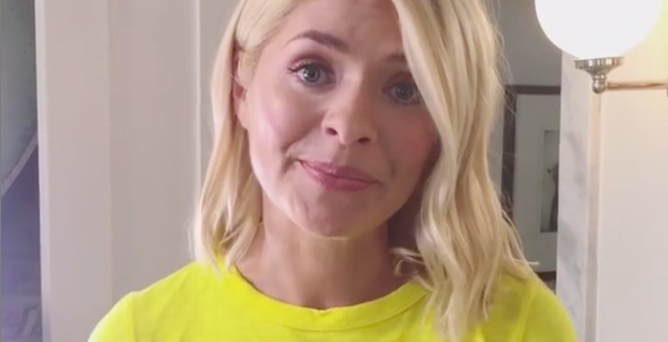 Holly Willoughby reassures fans she's fighting fit after illness forced her off work