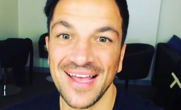 Peter Andre shares hilarious text from his daughter