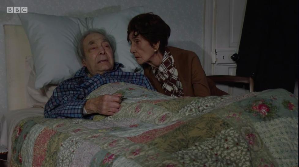 EastEnders fans sob as Dr Legg dies in heartbreaking episode