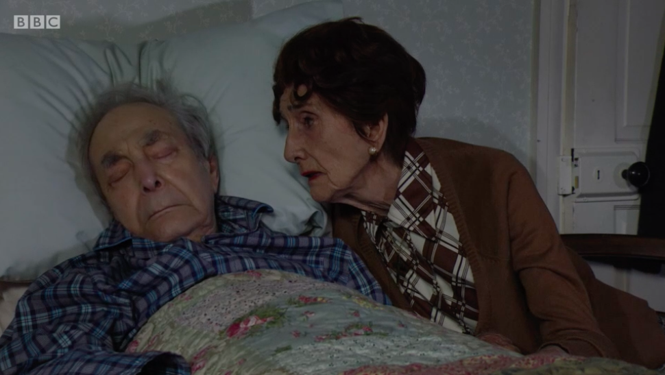 EastEnders fans sob as Dr Legg dies in heartbreaking episode
