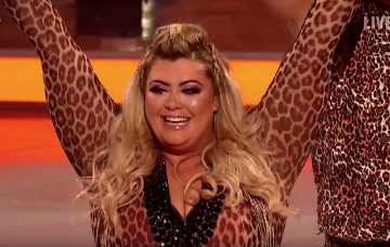 Gemma Collins Dancing On Ice ITV