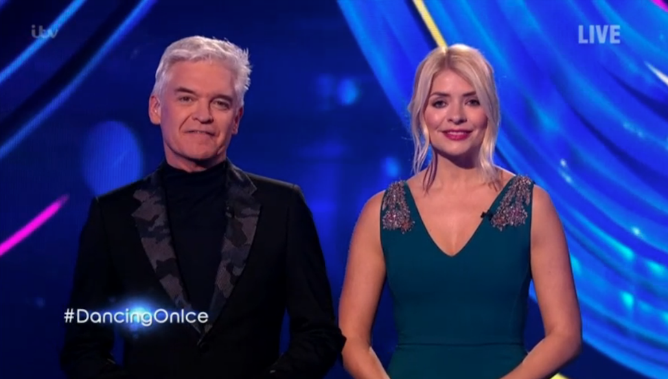 Fans reckon Holly Willoughby was 'outshone' by co-host Phillip Schofield on Dancing On Ice return