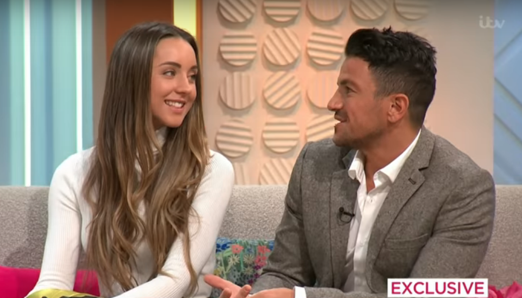 Emily Andre explains mystery behind weird Valentine's message to husband Peter