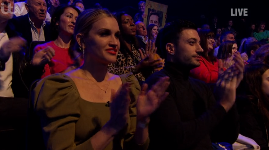 Ashley Roberts and Giovanni Pernice on DOI