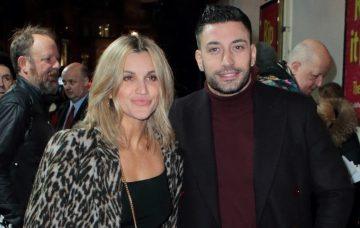 Ashley Roberts and Giovanni Pernice at the Rip It Up- The 60's Press Night