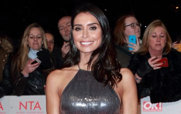 Christine Lampard On The Red Carpet At The 2018 National Television Awards In London