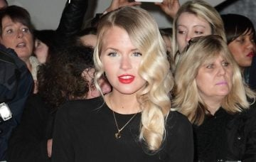 Hetti Bywater at The National Televison Awards 2014