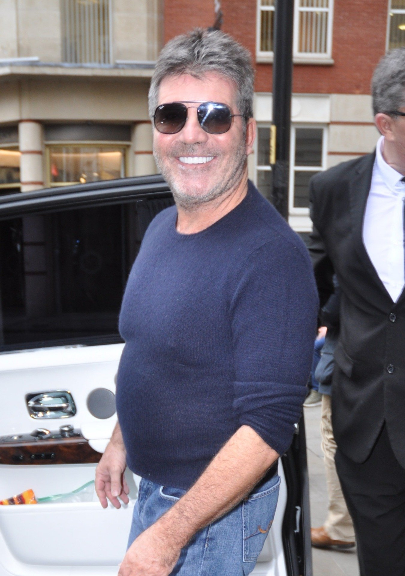 Simon Cowell Leaving Hotel Gotham Manchester