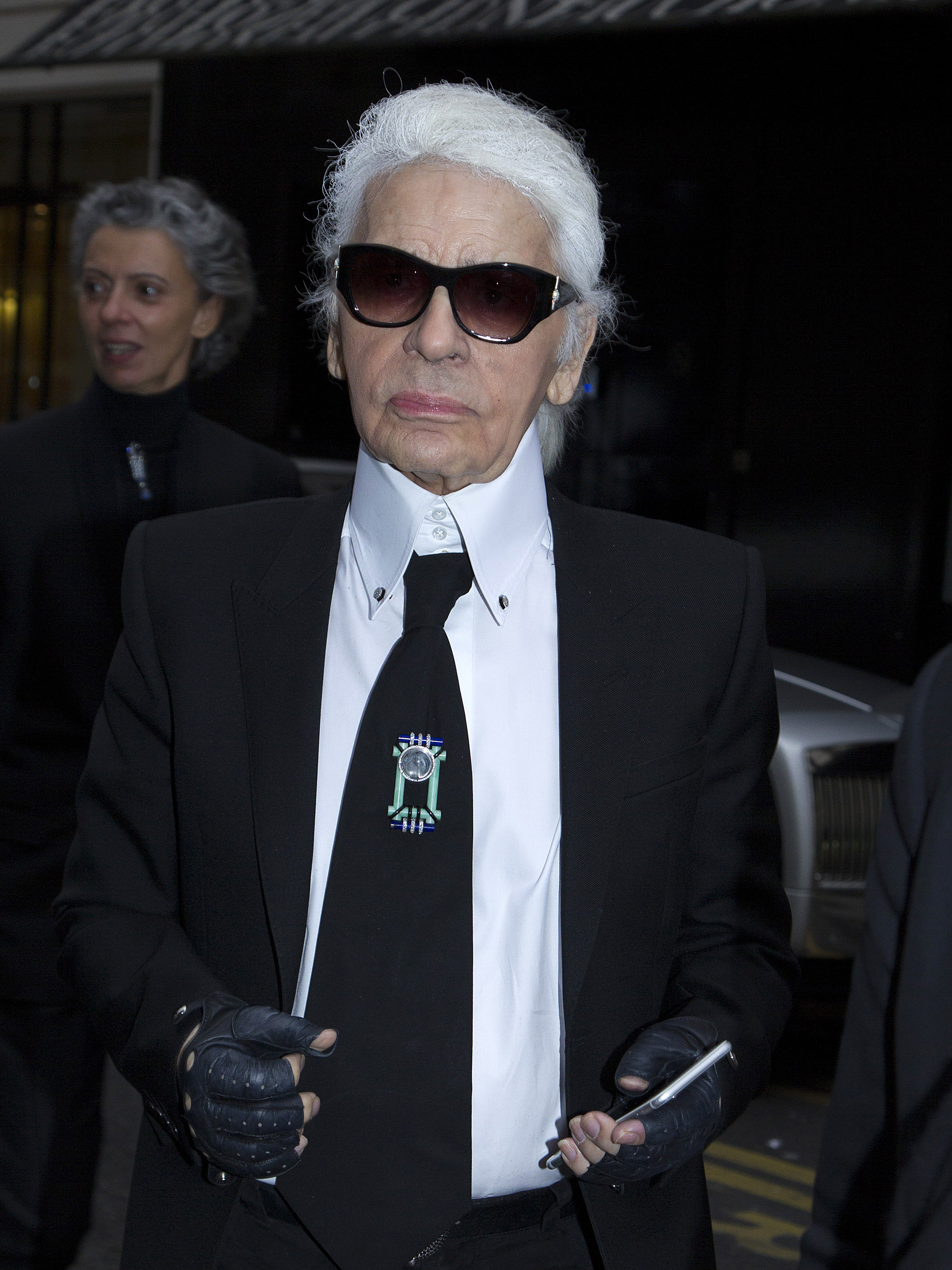 Exposition Karl Lagerfeld at Pinacotheque of Paris