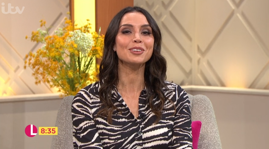 Christine Lampard forced to apologise after guest swears live on Lorraine