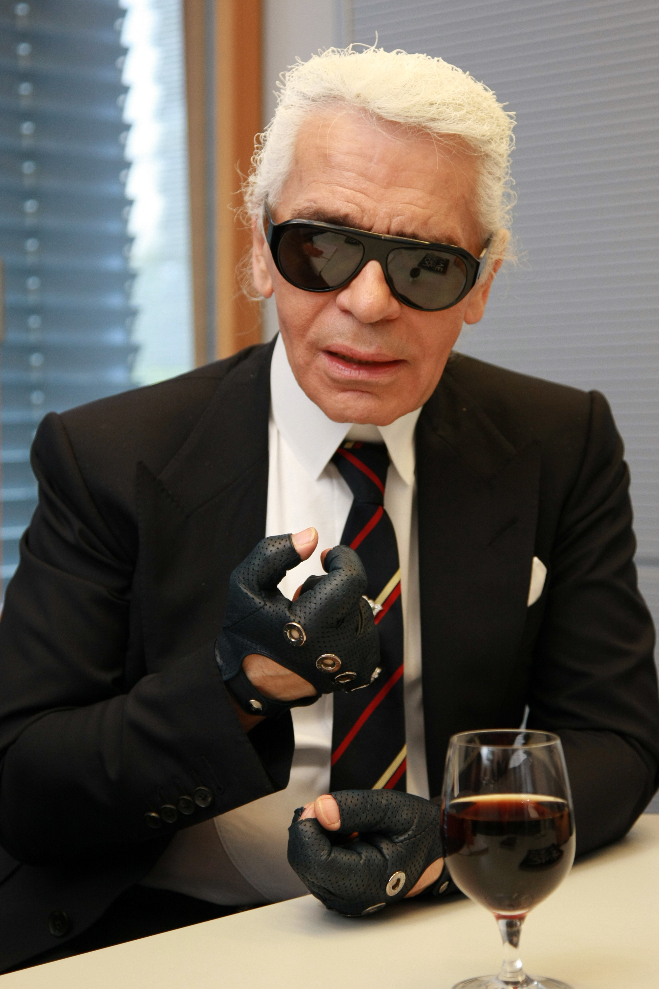 Karl Lagerfeld - Stock Images