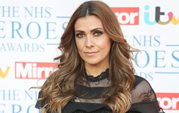 Kym Marsh at The NHS Heroes Awards 2018, brought to you by ITV and the Mirror, will be broadcast on Monday 21st May at 8.30pm