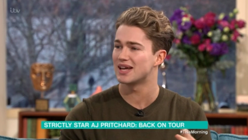 AJ Pritchard reveals his Strictly Come Dancing return hasn't been confirmed