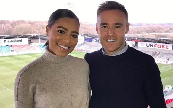 Corrie's Alan Halsall shares adorable birthday message to girlfriend Tisha Merry