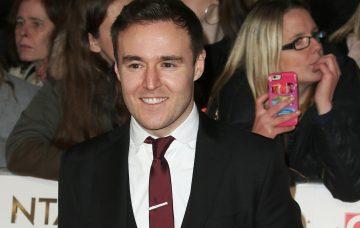 Alan Halsall at The National Television Awards 2017