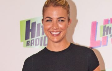 Gemma Atkinson at The Hits Live 2018 concert at manchester arena