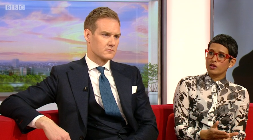 BBC Breakfast's Naga Munchetty apologises for 'microwaving pets' comment