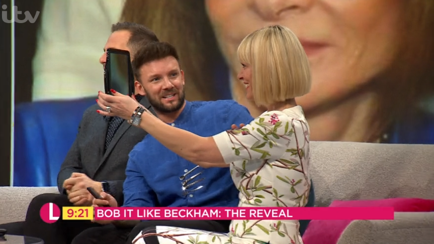 Lorraine fans in hysterics as guest 'pretends' to like dramatic haircut