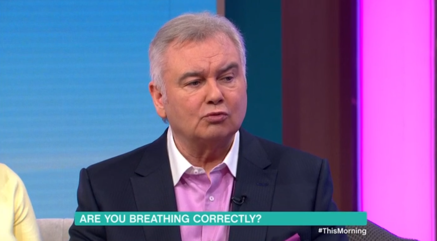 Eamonn Holmes gets no sympathy from Ruth Langsford as he reveals early death fears