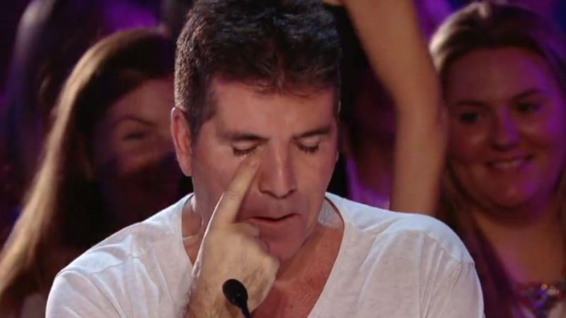 Simon Cowell 'breaks down in tears during emotional BGT audition'