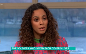 Rochelle Humes on This Morning