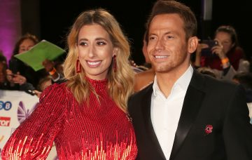 Stacey Solomon Joe Swash Splash News