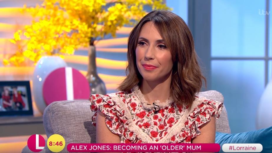 Alex Jones on Lorraine