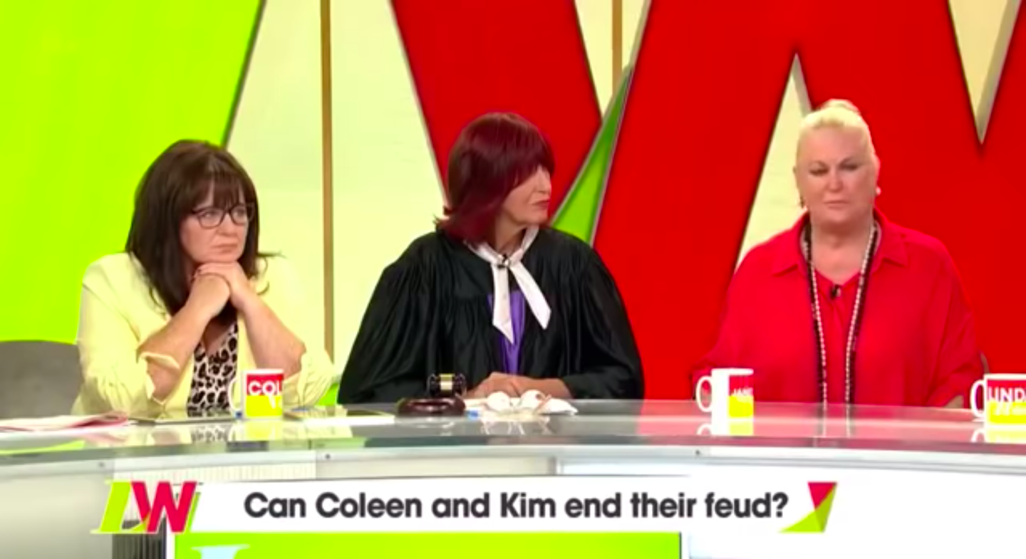 Loose Women 'cleared over Coleen Nolan and Kim Woodburn row after Ofcom complaints'