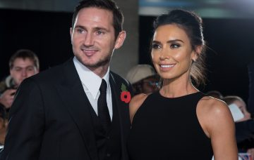 Frank and Christine Lampard at the Pride of Britain Awards 2017