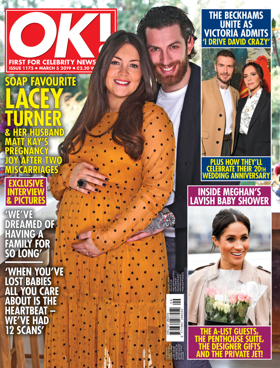 Lacey Turner pregnant - for OK! Magazine