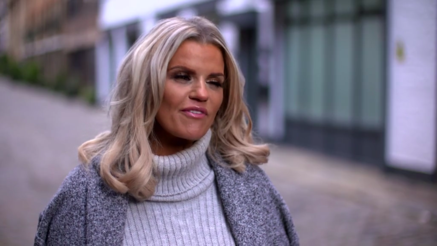 Kerry Katona gets REALLY drunk as she looks for love on Celebs Go Dating