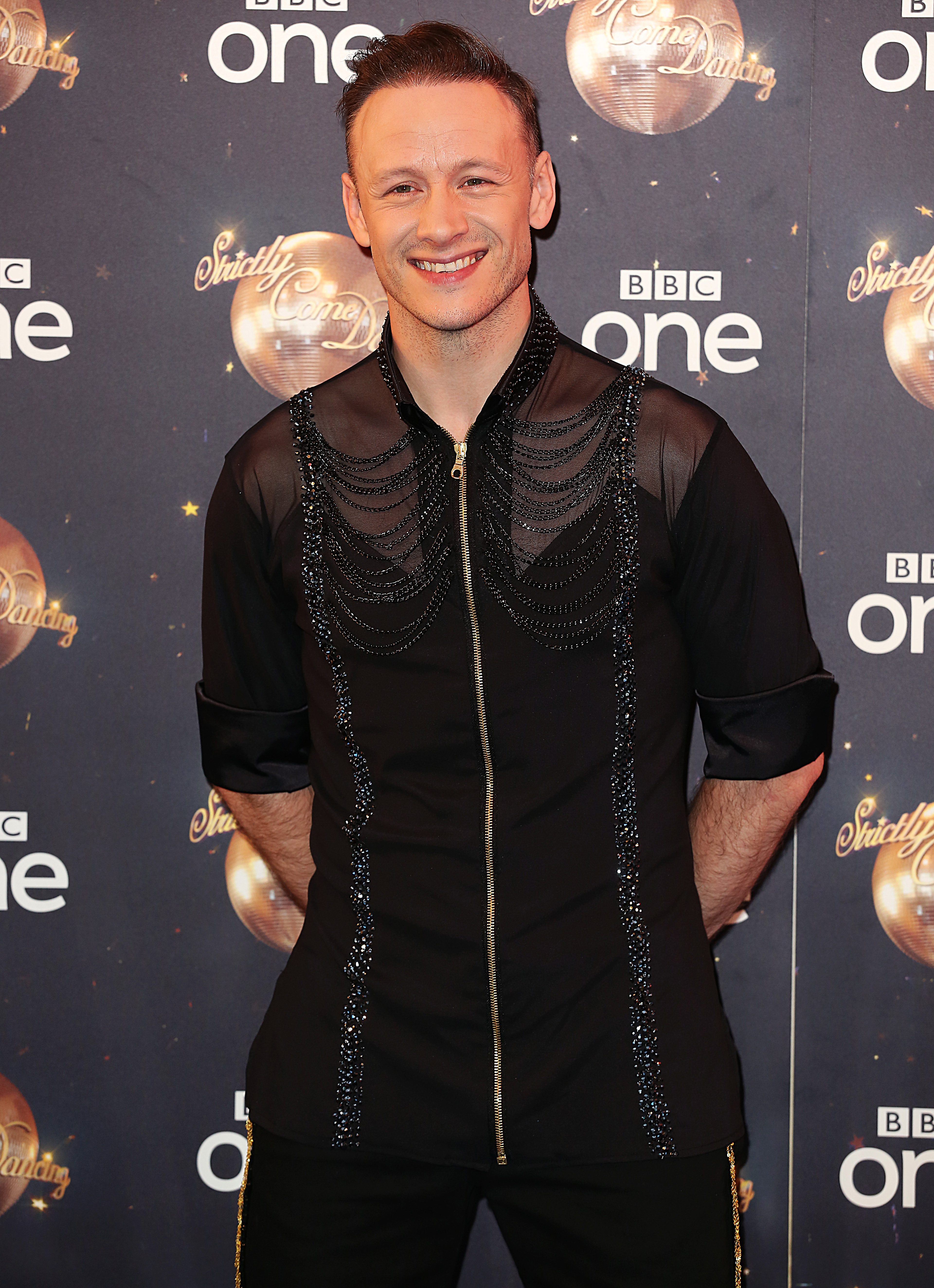 Kevin Clifton at the Strictly launch