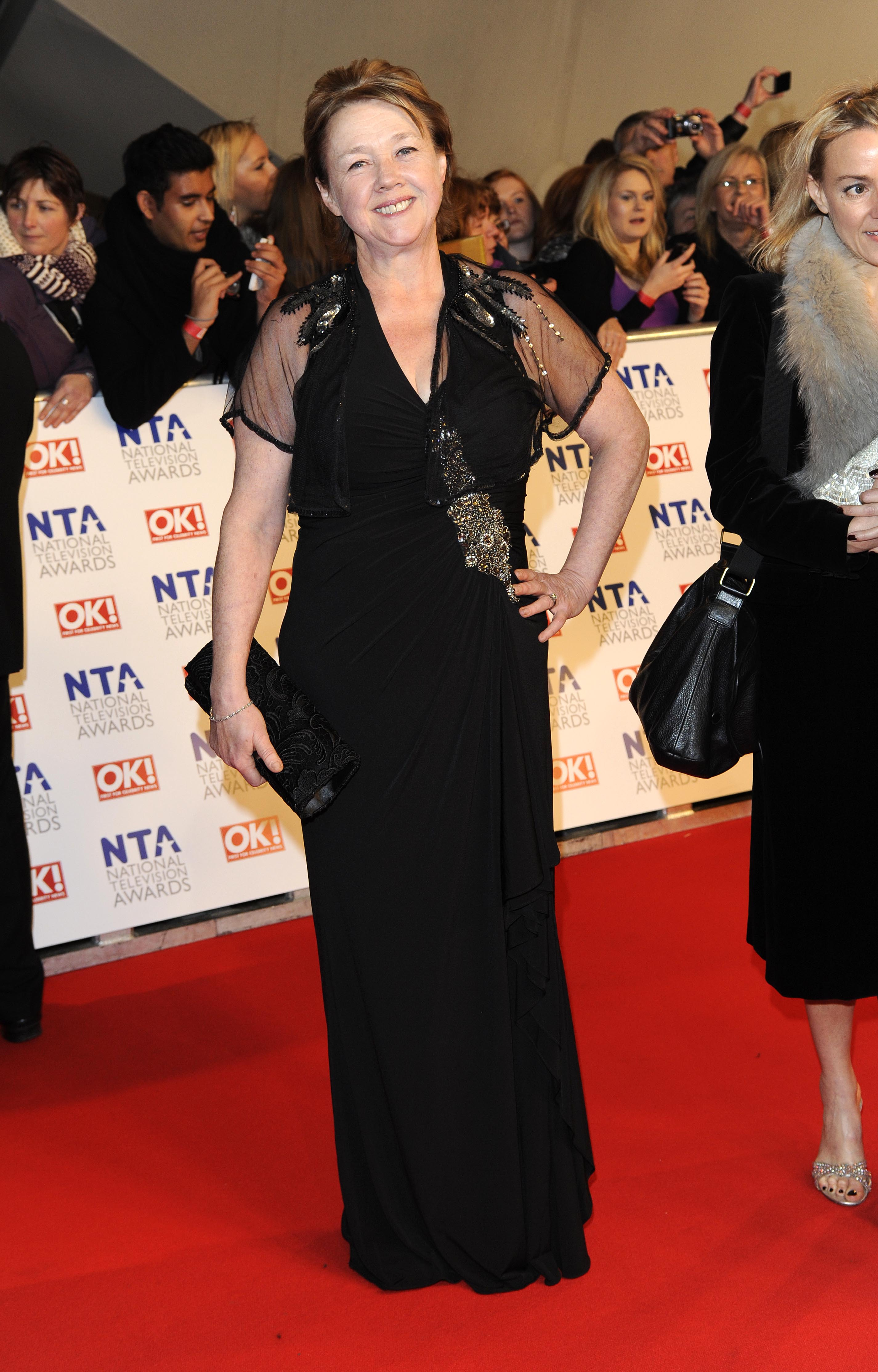Pauline Quirke at the National Television Awards 2012 in London