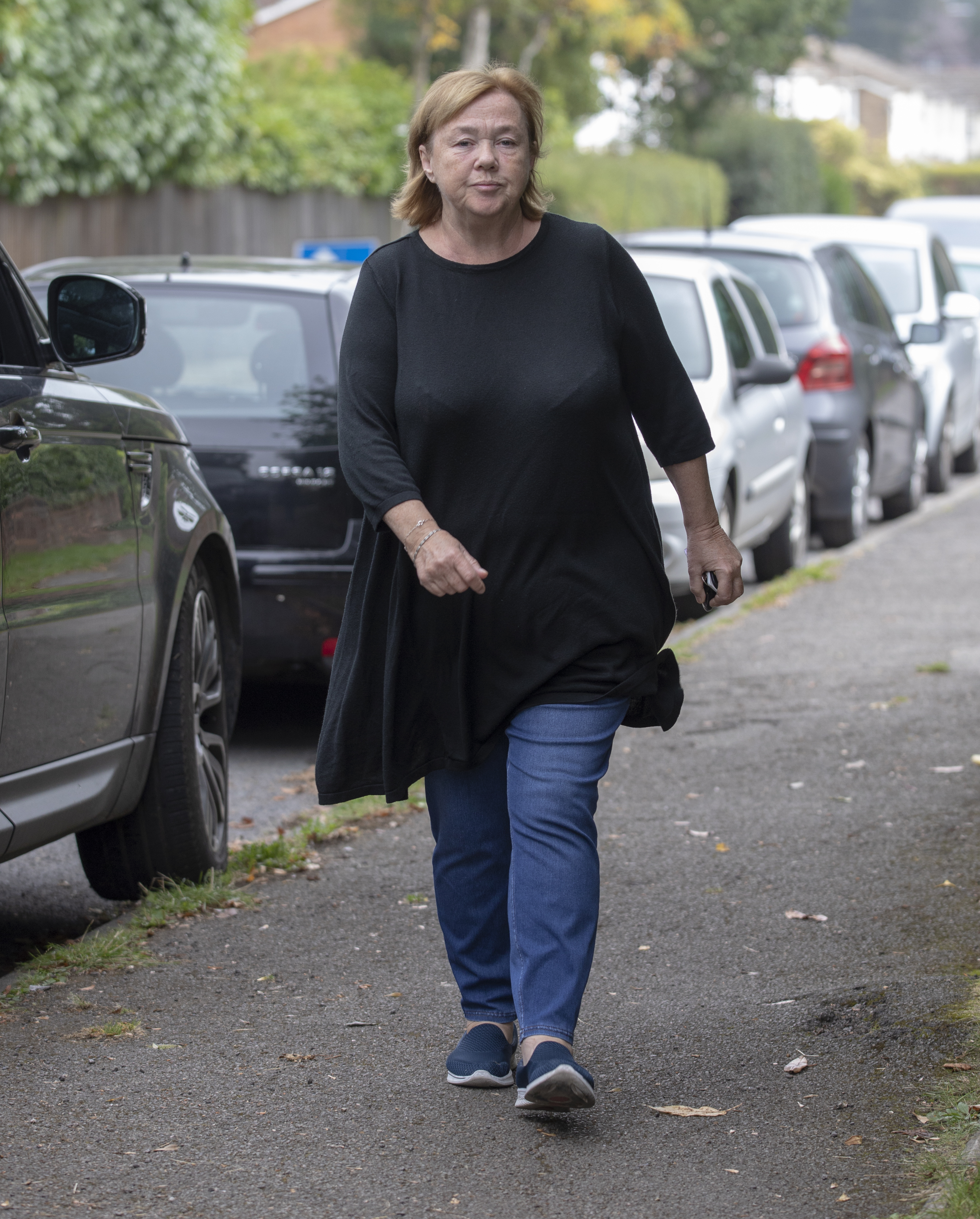 Pauline Quirke out and about near her London home