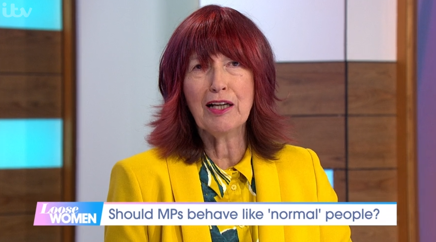 Janet Street Porter forced to apologise after getting co-star's name wrong