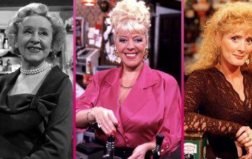 Coronation Street Rovers Return barmaids past and present
