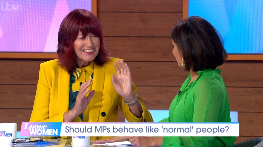 Janet Street Porter and Saira Khan on Loose Women