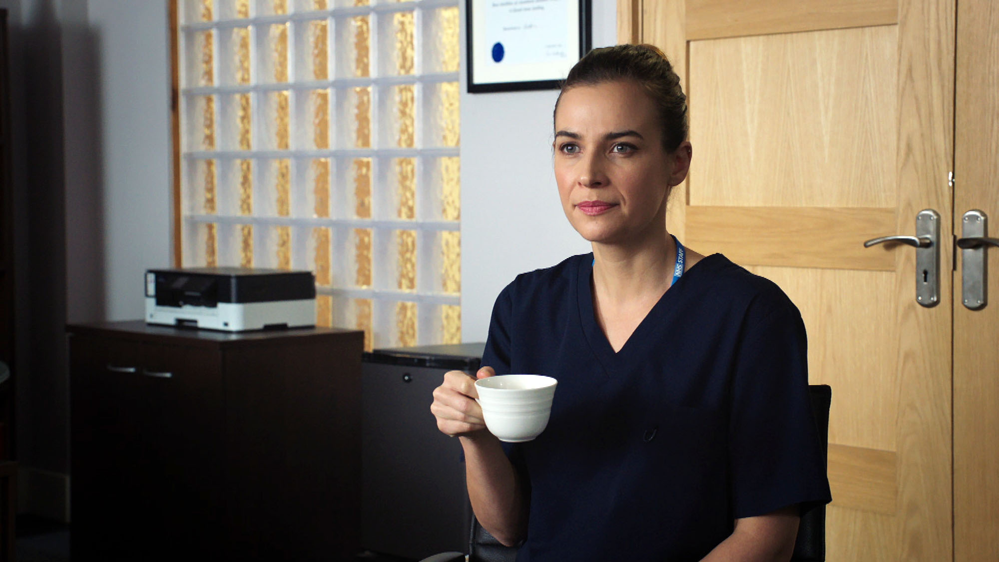 Holby City SPOILER: Mystery man arrives begging Zosia to return to the States