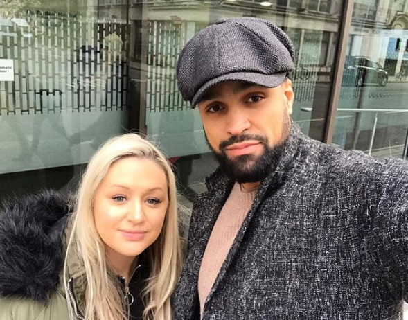Ashley Banjo and wife