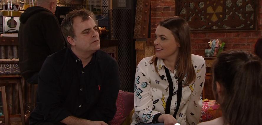 "Coronation Street's Simon Gregson wants Tracy Barlow to get ""massive knockers"""