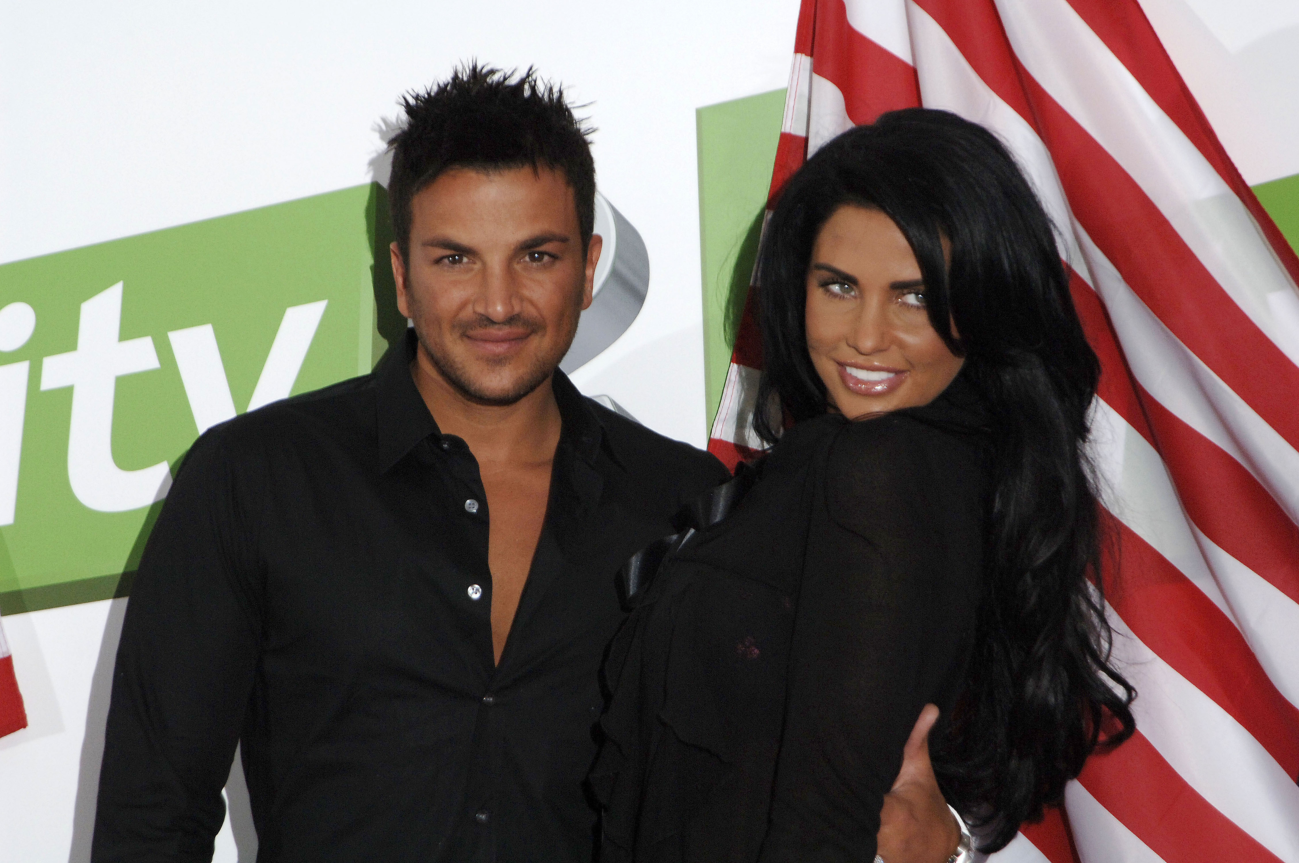 Katie Price and Peter Andre FINALLY call a truce