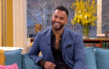 Ricky Whittle on This Morning