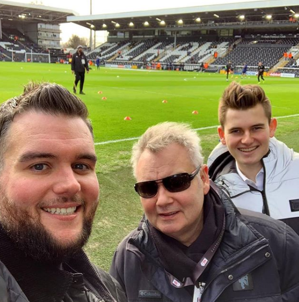 Eamonn Holmes and his two sons