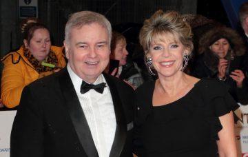 Eamonn Holmes and Ruth Langford at the National Television Awards 2019