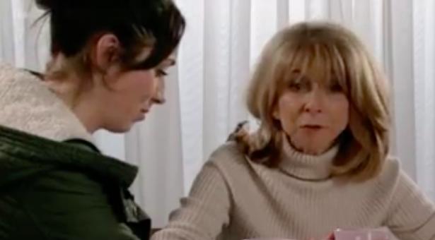 Gail Platt swears on Corrie