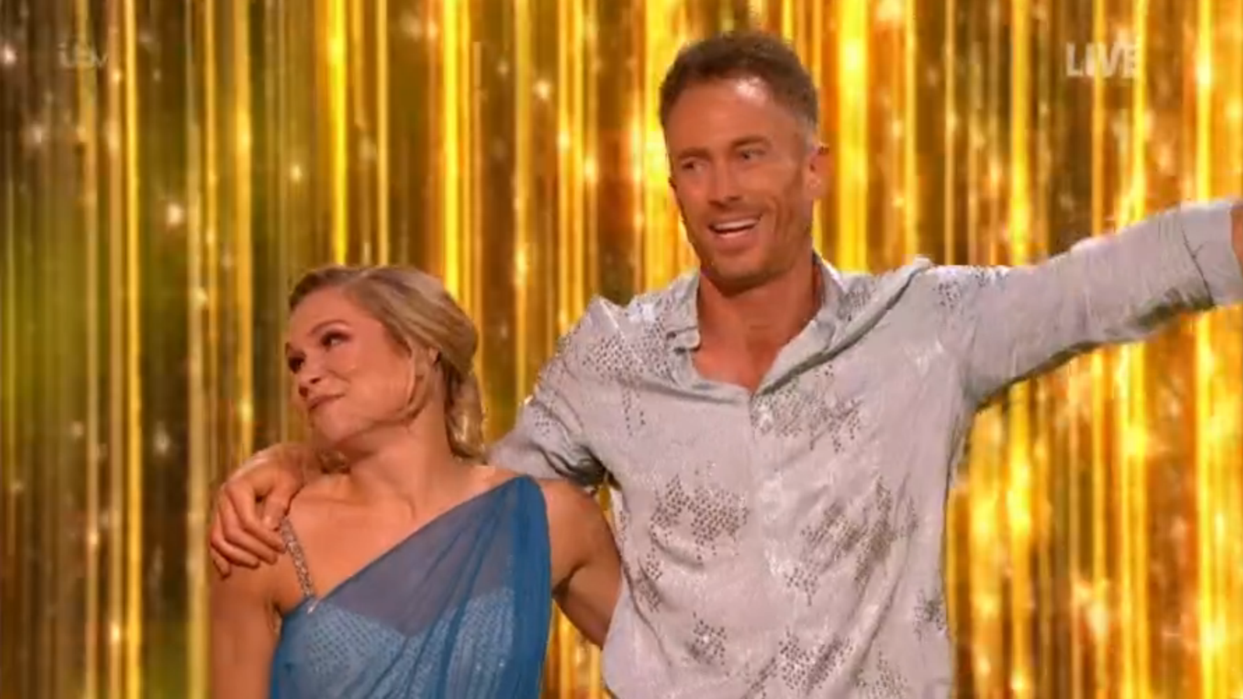 James Jordan wows Dancing On Ice panel with four perfect 10s