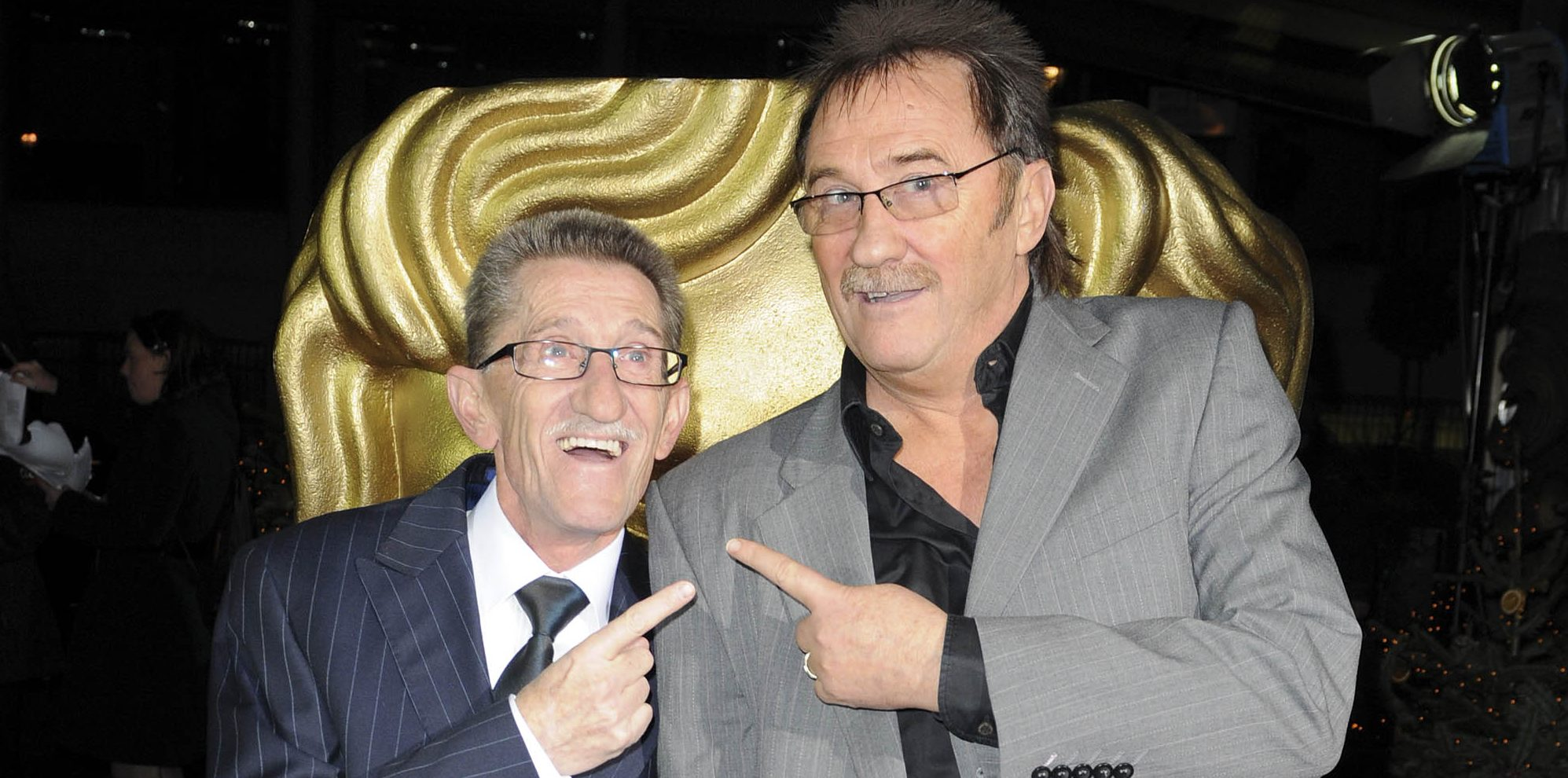 Paul Chuckle slams nightclub for 'totally disrespectful' prop of Barry's grave
