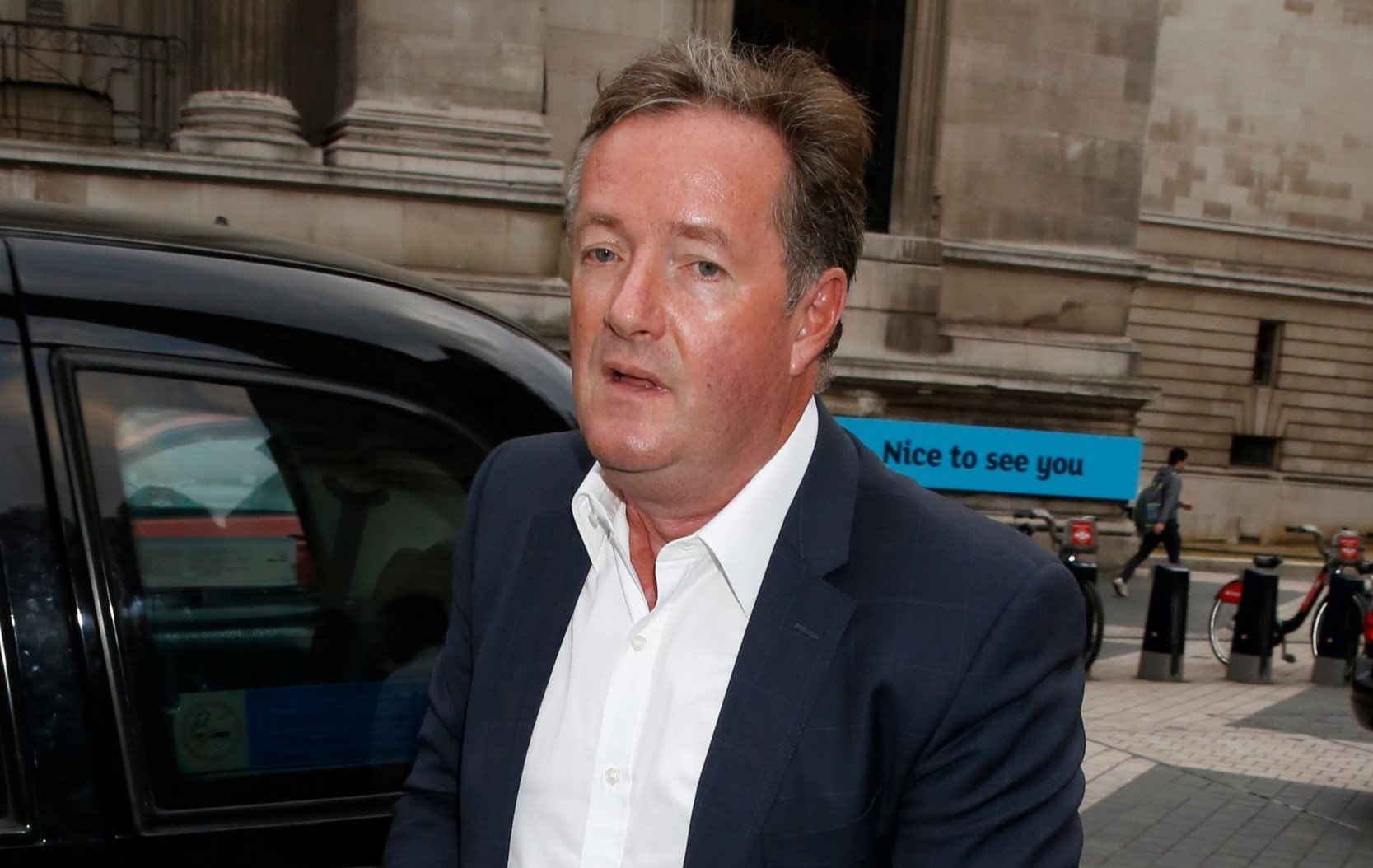 Piers Morgan Defends His Parenting Skills During Twitter