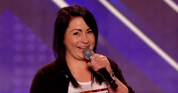 Lucy Spraggan on The X Factor in 2012